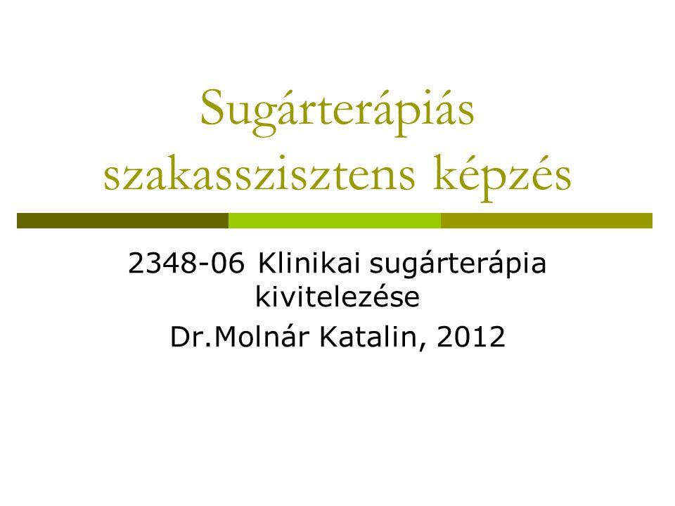 Sugárterápiás szakasszisztens képzés