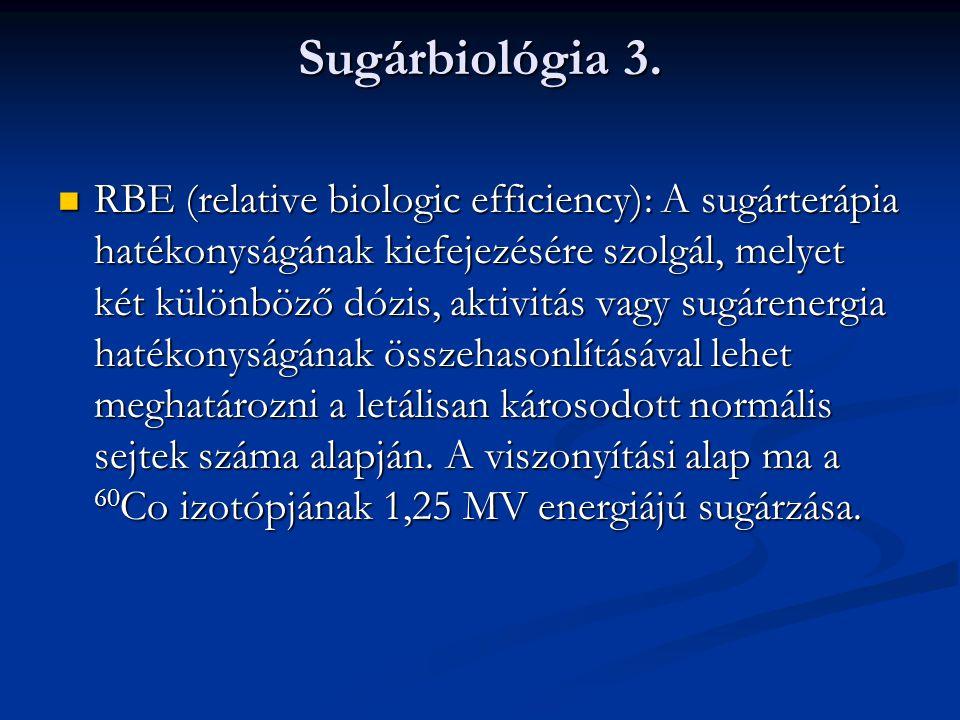 Sugárbiológia 3.