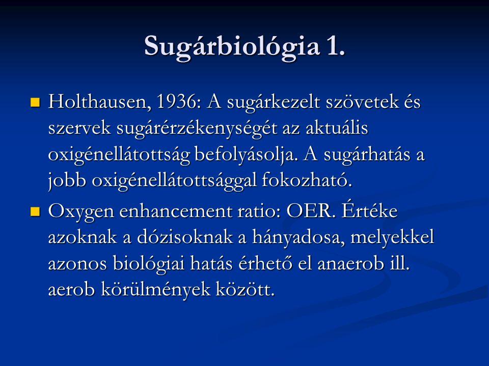 Sugárbiológia 1.
