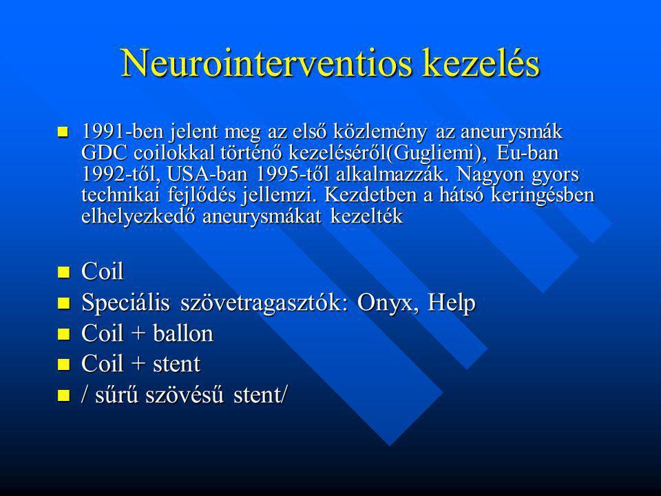 Neurointerventios kezelés