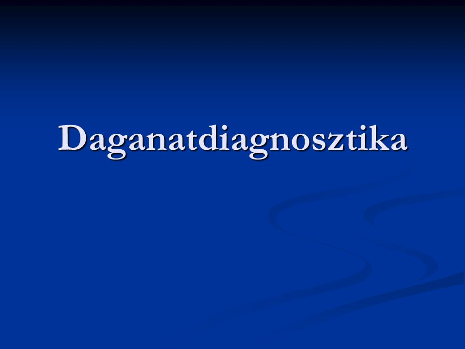 Daganatdiagnosztika