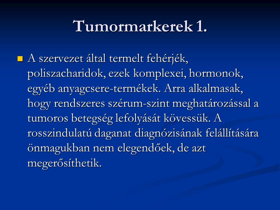 Tumormarkerek 1.