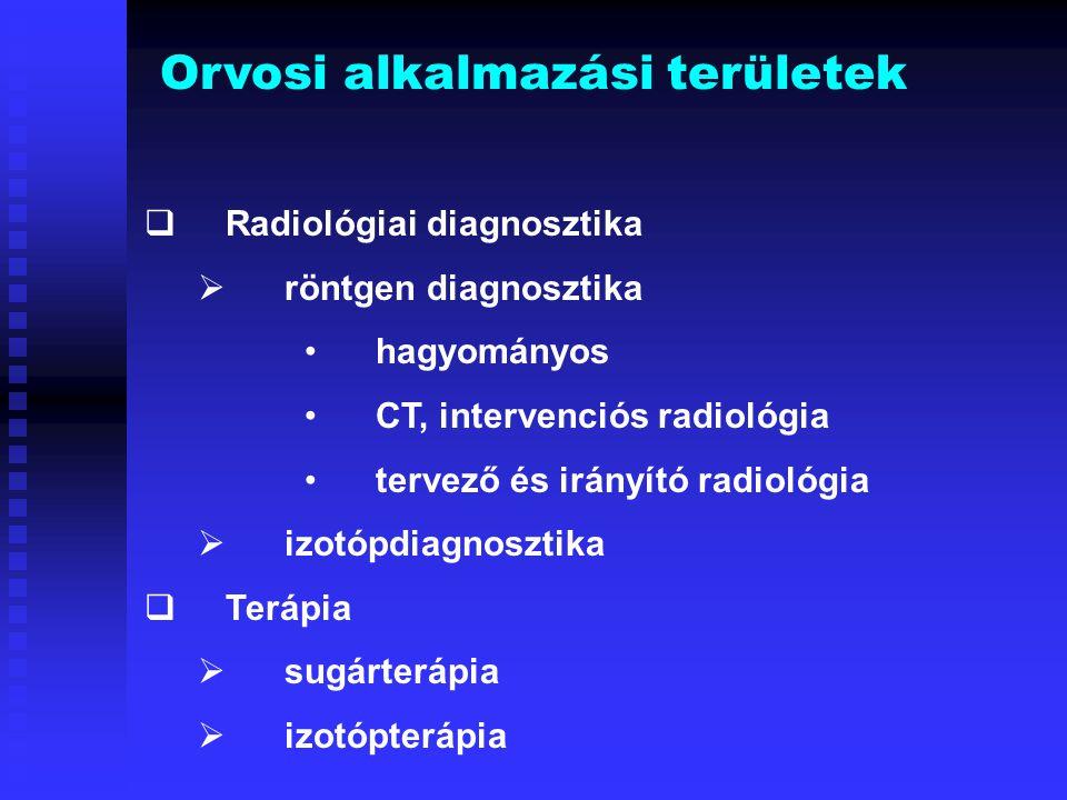 Orvosi alkalmazási területek