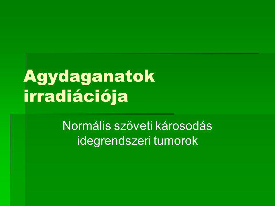 Agydaganatok irradiációja