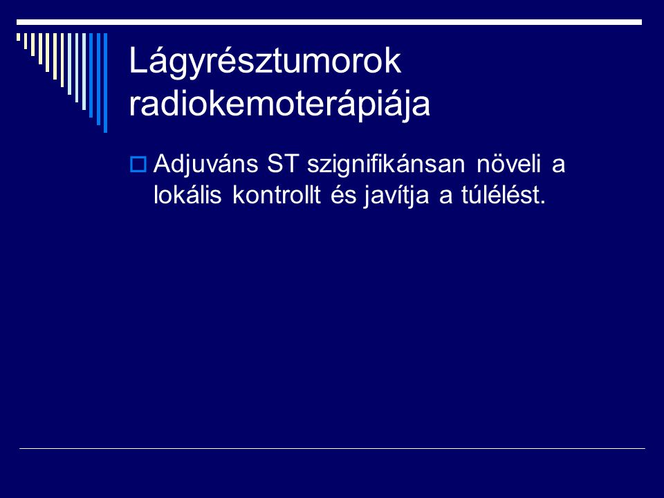 Lágyrésztumorok radiokemoterápiája