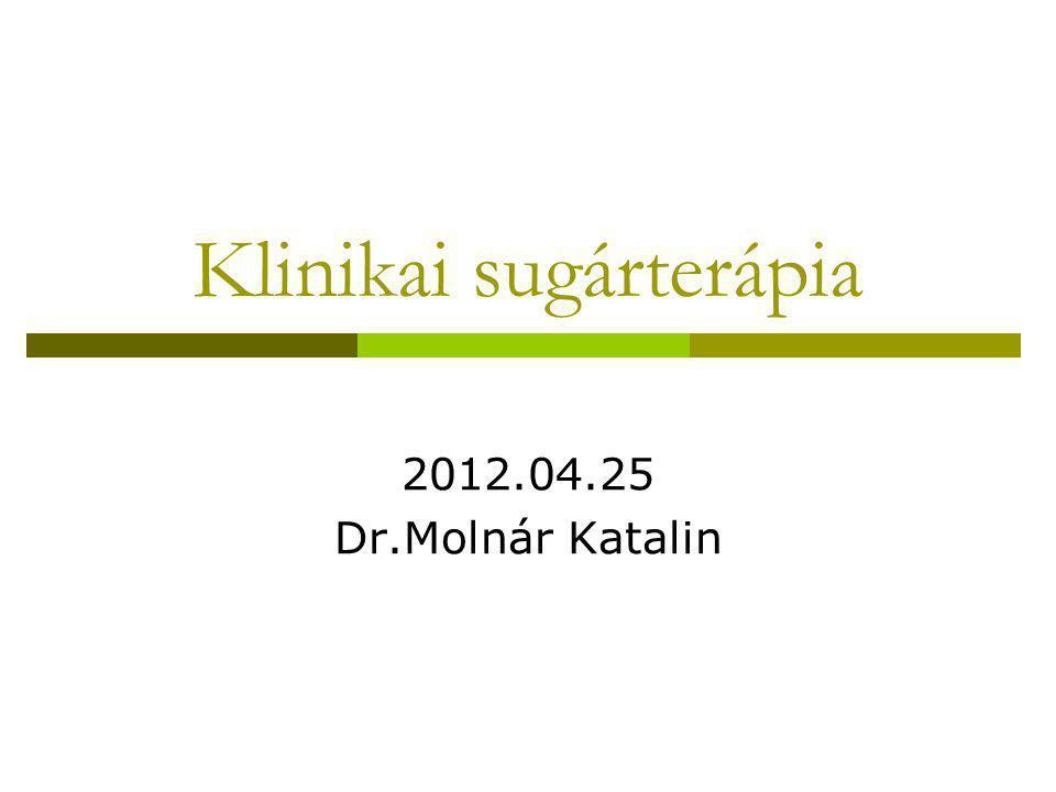 Klinikai sugárterápia
