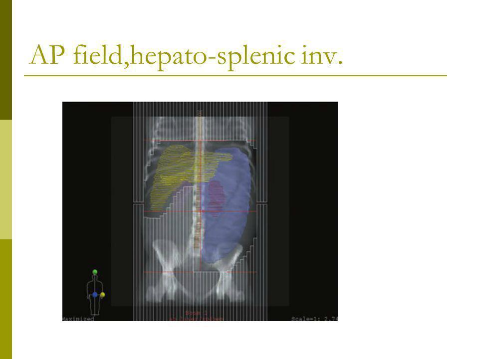 AP field,hepato-splenic inv.