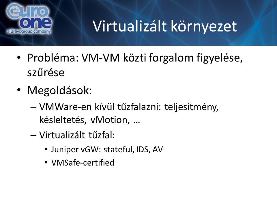 Virtualizált környezet