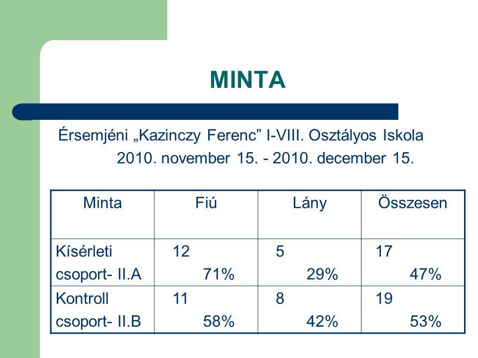 """MINTA Érsemjéni """"Kazinczy Ferenc I-VIII. Osztályos Iskola"""