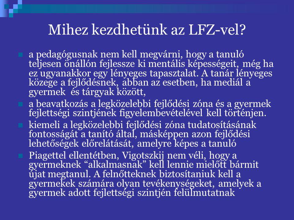 Mihez kezdhetünk az LFZ-vel