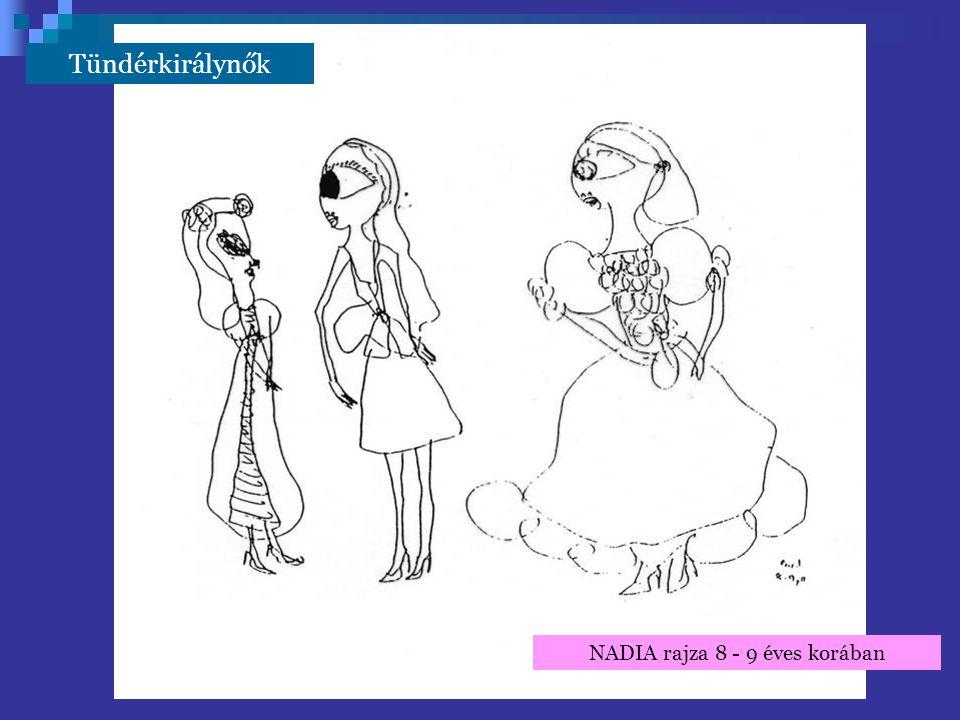 NADIA rajza 8 - 9 éves korában