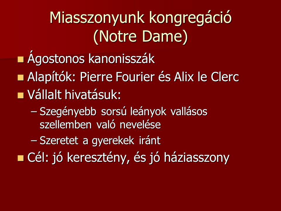 Miasszonyunk kongregáció (Notre Dame)
