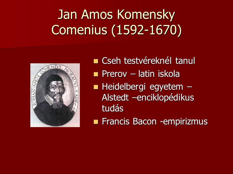 Jan Amos Komensky Comenius (1592-1670)