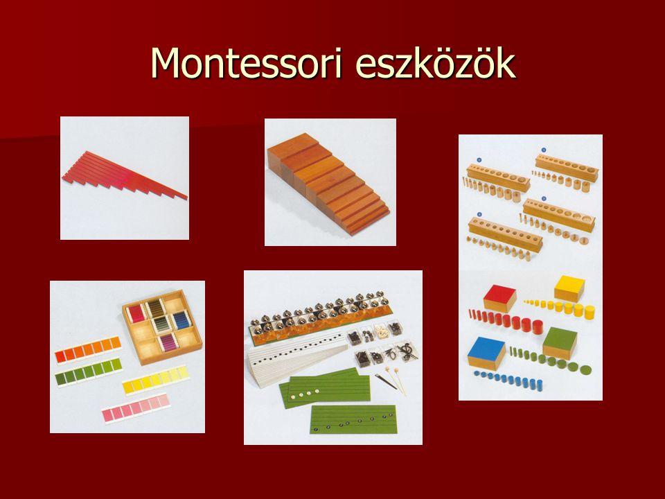 Montessori eszközök