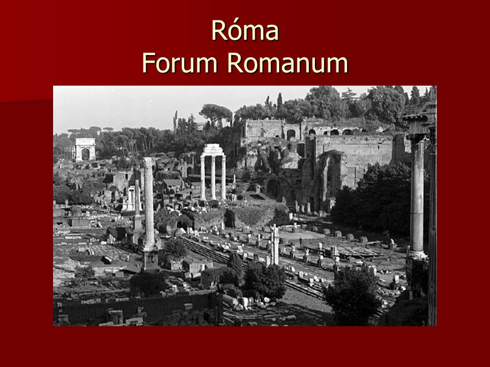 Róma Forum Romanum