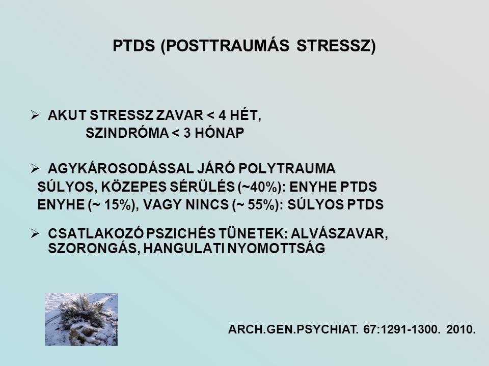 PTDS (POSTTRAUMÁS STRESSZ)