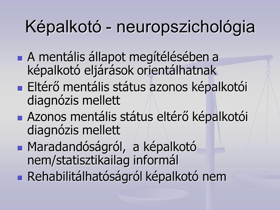 Képalkotó - neuropszichológia