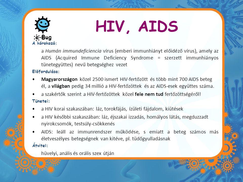 HIV, AIDS A kórokozó: