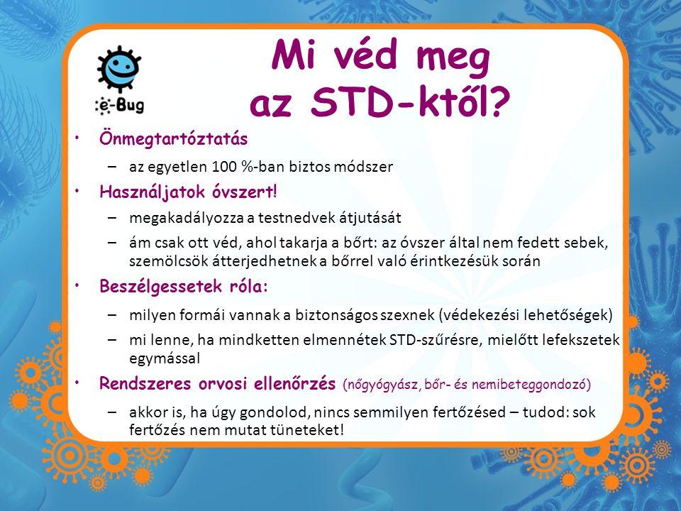 Mi véd meg az STD-ktől Önmegtartóztatás