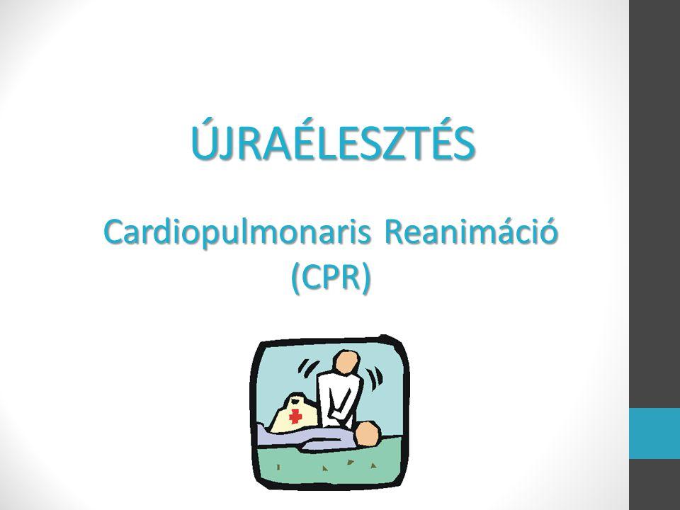 Cardiopulmonaris Reanimáció (CPR)
