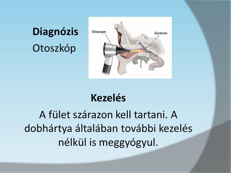 Diagnózis Otoszkóp Kezelés A fület szárazon kell tartani