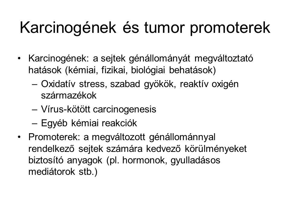 Karcinogének és tumor promoterek