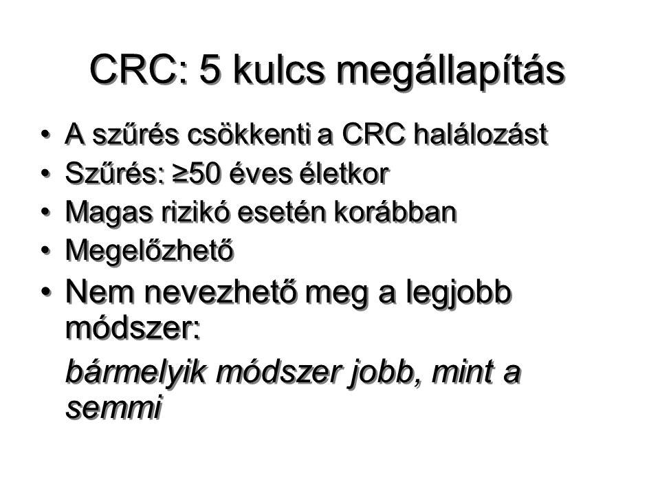 CRC: 5 kulcs megállapítás
