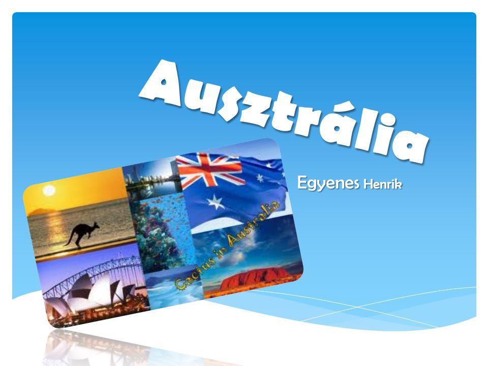 Ausztrália Egyenes Henrik