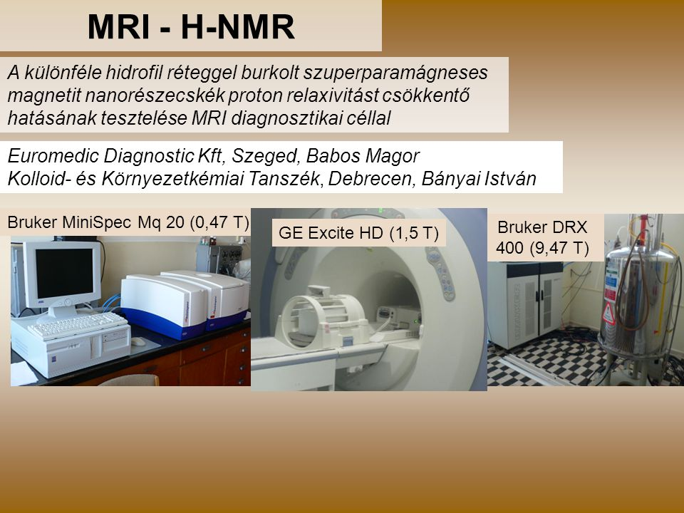 MRI - H-NMR