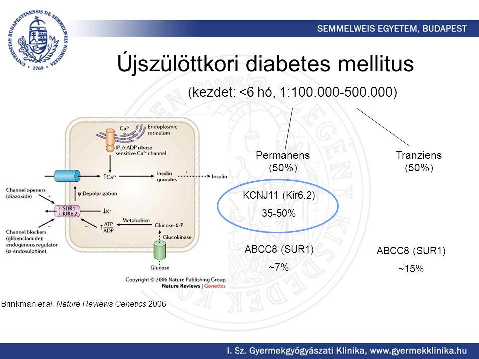 Újszülöttkori diabetes mellitus