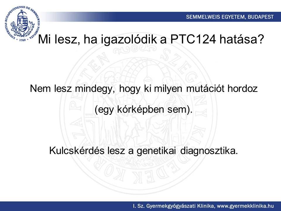 Mi lesz, ha igazolódik a PTC124 hatása