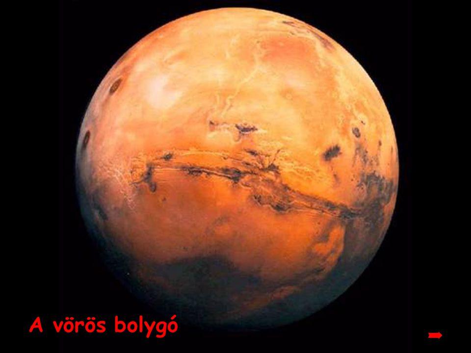 A vörös bolygó