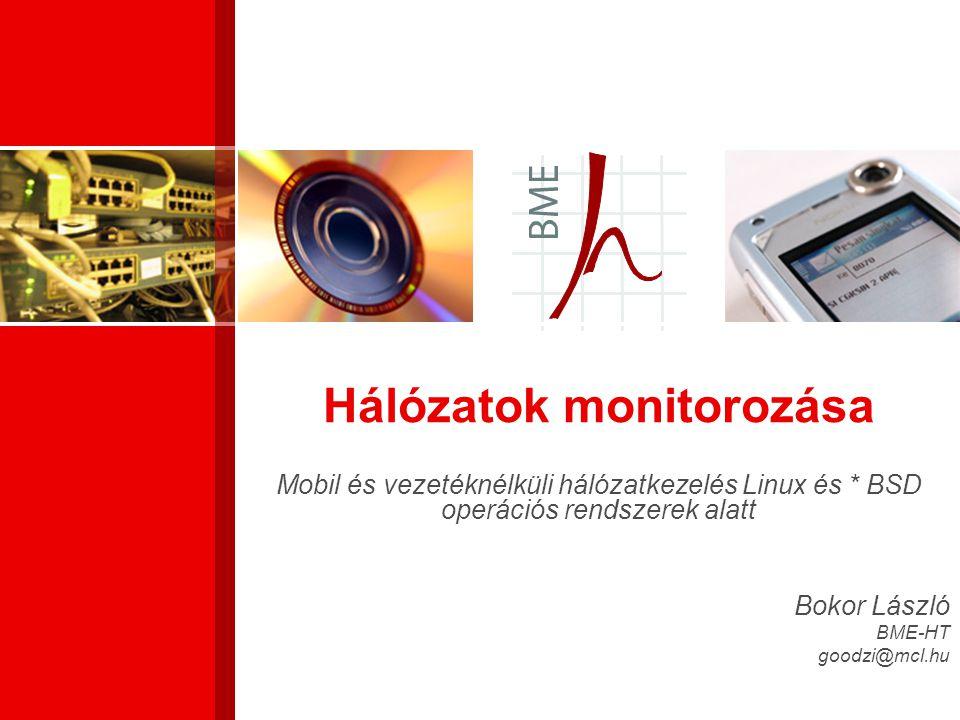 Hálózatok monitorozása
