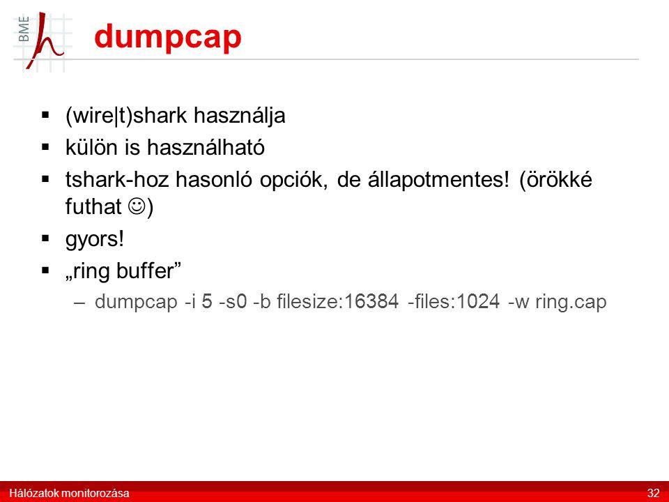 dumpcap (wire|t)shark használja külön is használható