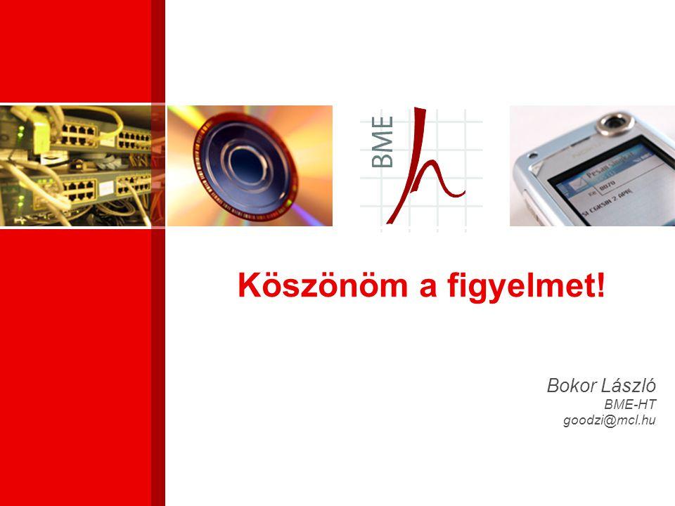 Bokor László BME-HT goodzi@mcl.hu