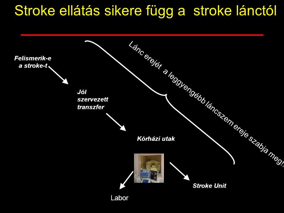Felismerik-e a stroke-t