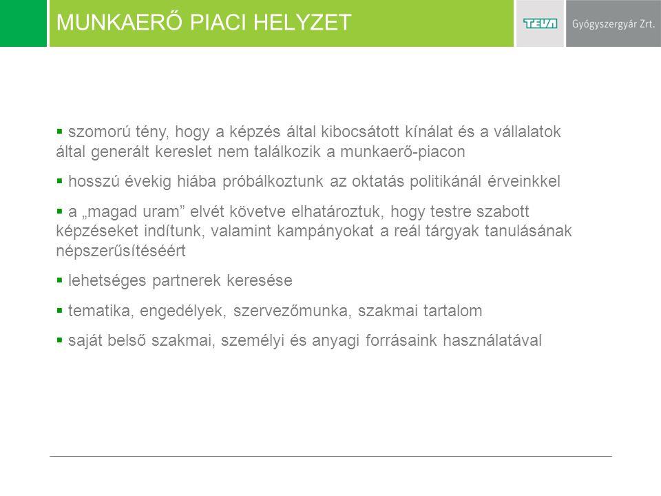 MUNKAERŐ PIACI HELYZET