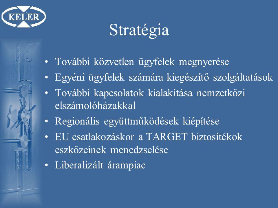 Stratégia További közvetlen ügyfelek megnyerése