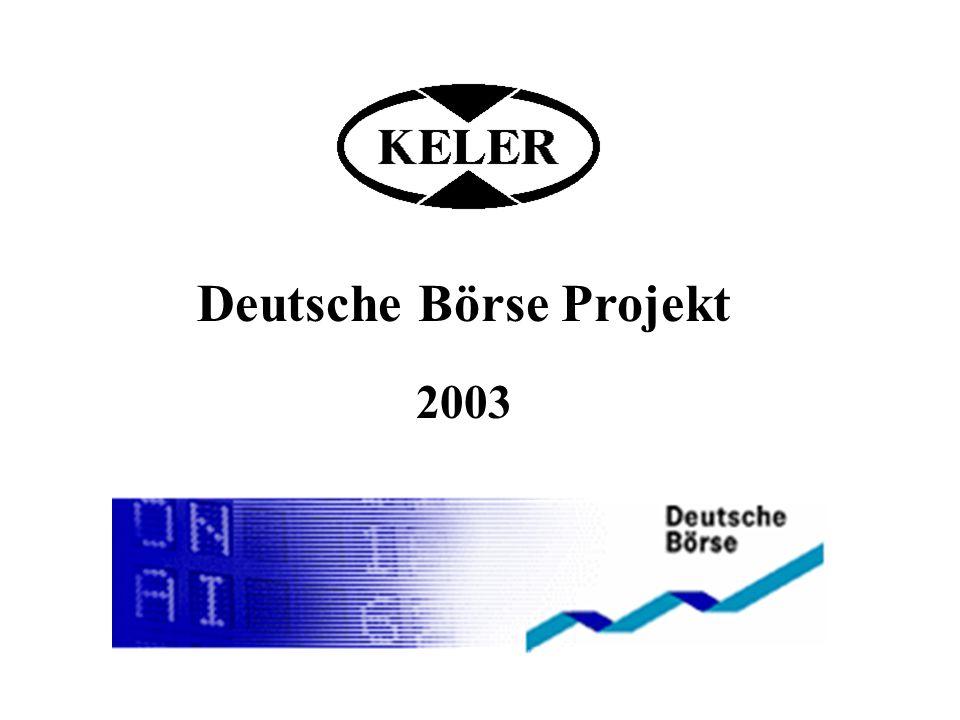 Deutsche Börse Projekt