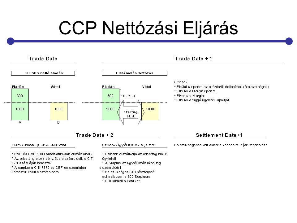 CCP Nettózási Eljárás