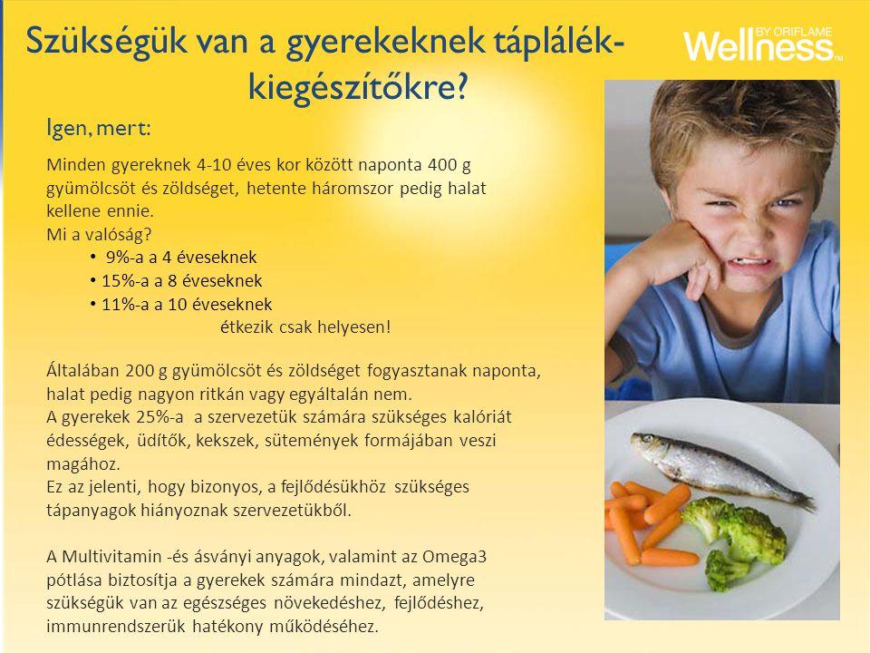 Szükségük van a gyerekeknek táplálék- kiegészítőkre