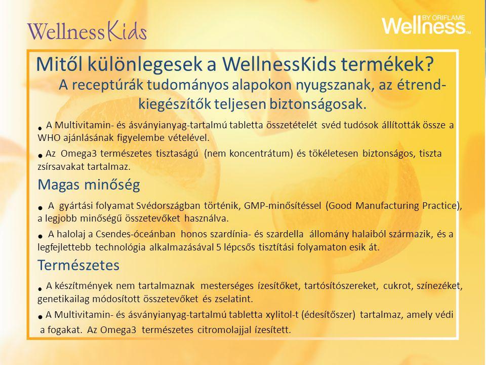 Mitől különlegesek a WellnessKids termékek