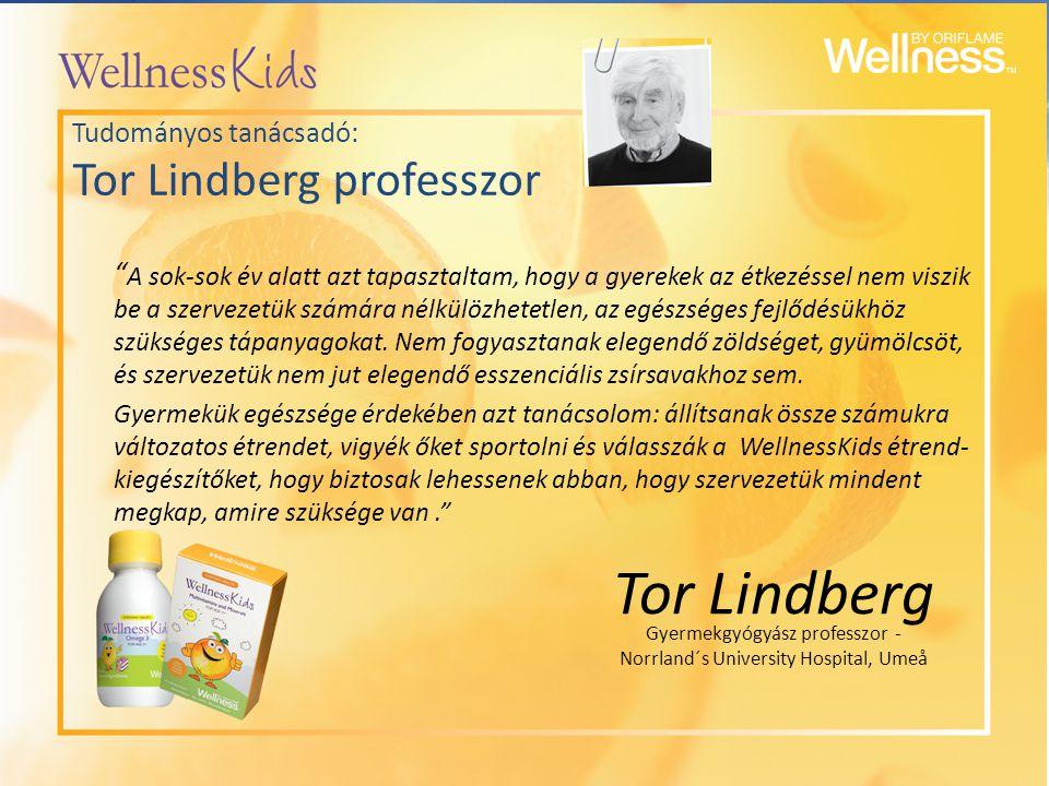 Tudományos tanácsadó: Tor Lindberg professzor