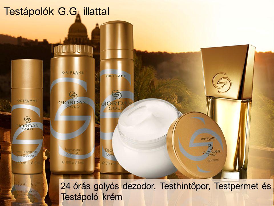 Testápolók G.G. illattal