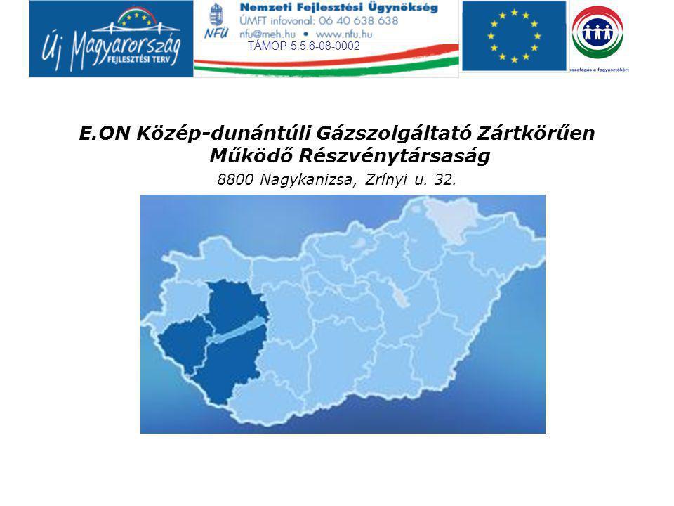 E.ON Közép-dunántúli Gázszolgáltató Zártkörűen Működő Részvénytársaság