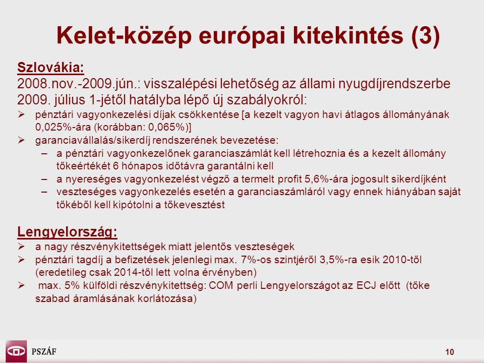 Kelet-közép európai kitekintés (3)
