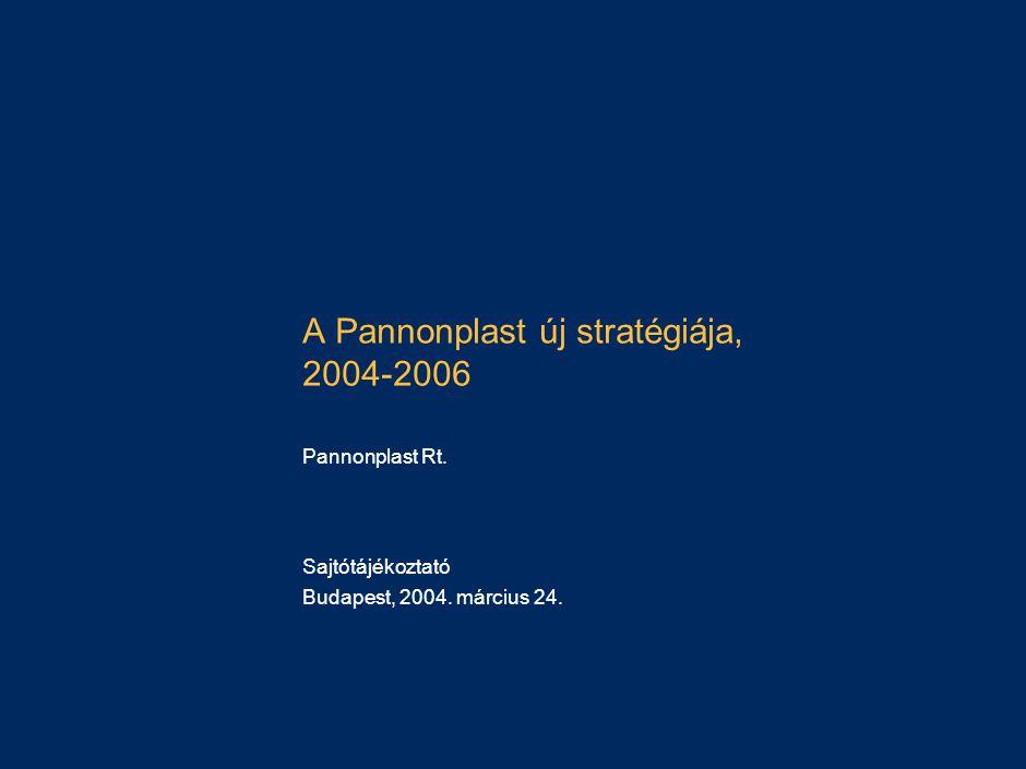 A Pannonplast stratégiája