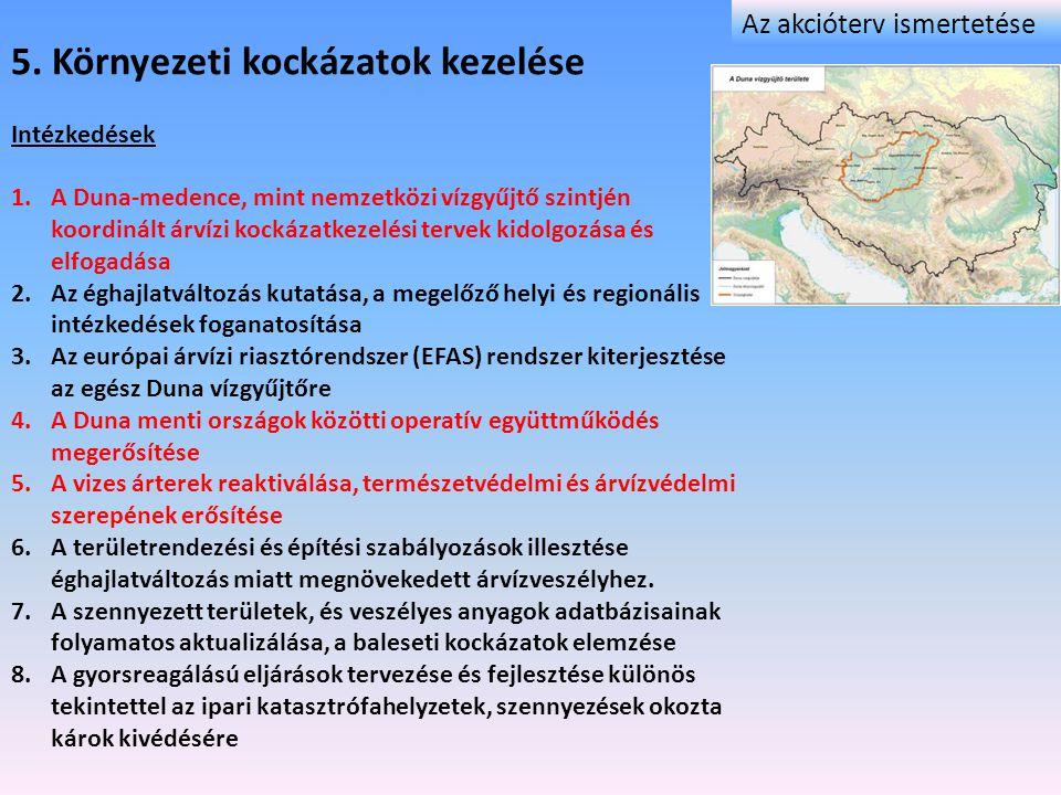 5. Környezeti kockázatok kezelése