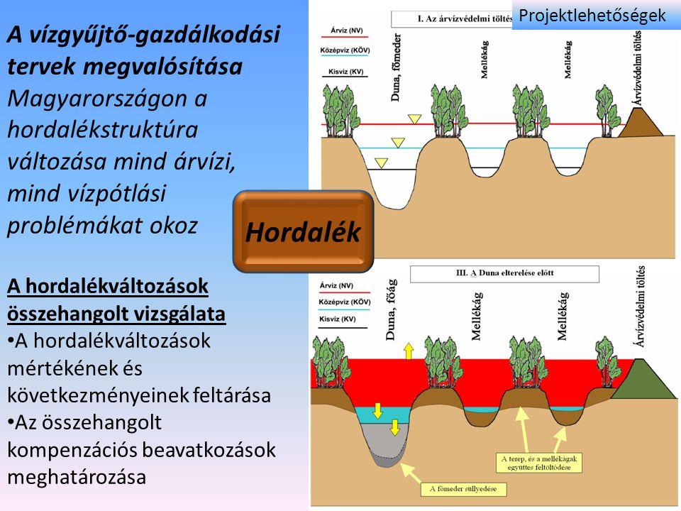 Hordalék A vízgyűjtő-gazdálkodási tervek megvalósítása