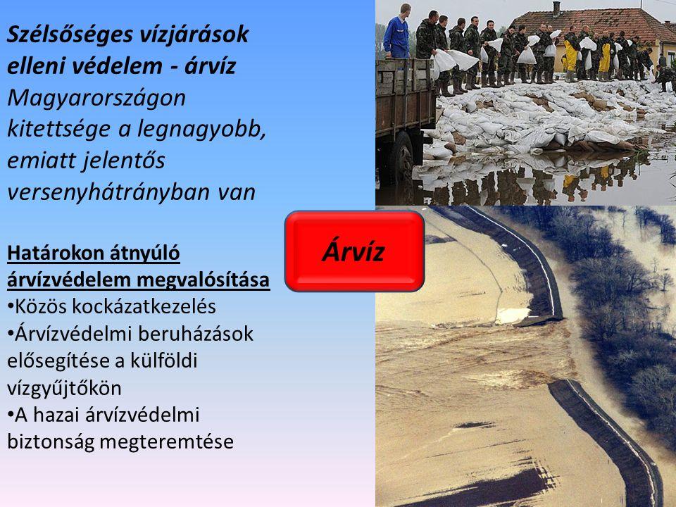 Árvíz Szélsőséges vízjárások elleni védelem - árvíz